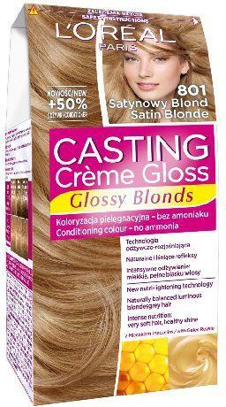 Casting Creme Gloss Krem koloryzujący nr 801 Satynowy Blond 1