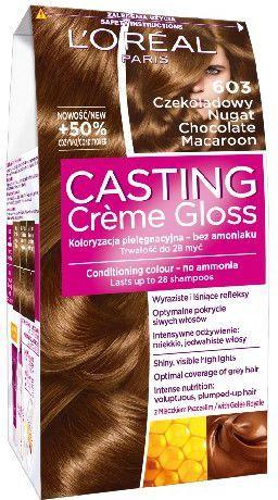 Casting Creme Gloss Krem koloryzujący nr 603 Czekoladowy Nugat 1