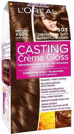 Casting Creme Gloss Krem koloryzujący nr 503 Czekoladowe Toffi 1