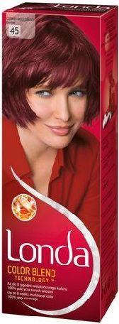 Londacolor Cream Farba do włosów nr 45 czerwień granatu 1