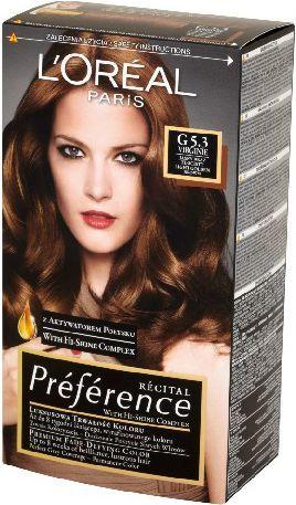 L'Oreal Paris Farba Recital Preference G5.3 Jasny Brąz Złocisty 1