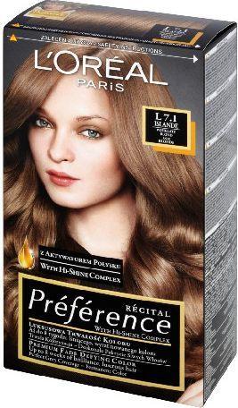 L'Oreal Paris Farba Recital Preference L Popielaty Blond 1