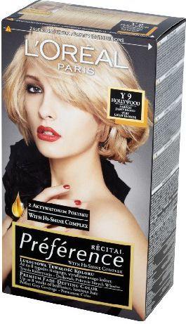 L'Oreal Paris Farba Recital Preference Y Bardzo Jasny Blond 1