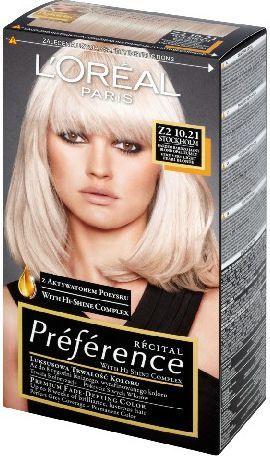 L'Oreal Paris Farba Recital Preference Z2 Bardzo Bardzo Jasny Blond Opalizujący 1
