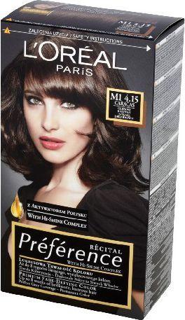 L'Oreal Paris Farba Recital Preference M1 Głęboki Kasztan 1