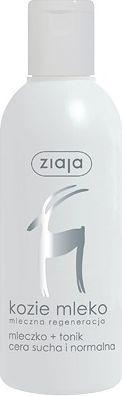 Ziaja Kozie Mleko Mleczko i tonik 200 ml 1