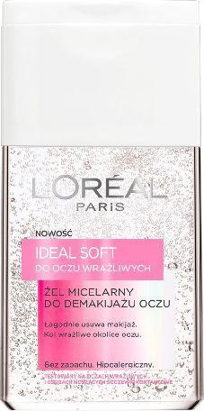 L'Oreal Paris Ideal Soft Żel miceralny do demakijażu oczu 125ml - 0282460 1