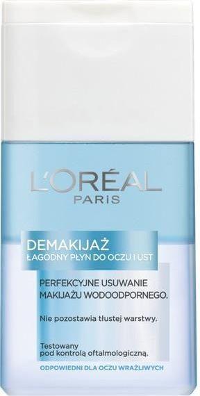 L'Oreal Paris Demakijaż Płyn do demakijażu oczu i ust dwufazowy 125ml 1