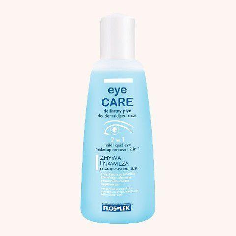 FLOSLEK Pielęgnacja oczu Delikatny płyn do demakijażu oczu 2w1 135 ml 1