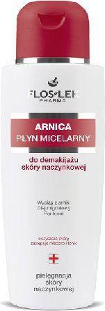 FLOSLEK Pielęgnacja skóry naczynkowej Płyn miceralny do demakijażu 200 ml 1