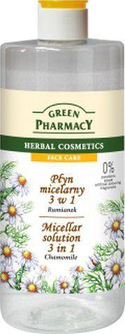 Green Pharmacy Płyn micelarny 3w1 z ekstraktem z rumianku 500ml 1