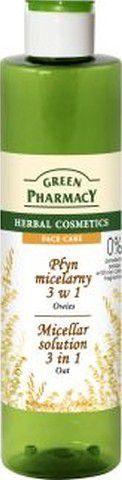 Green Pharmacy Płyn micelarny 3w1 z ekstraktem z owsa 250ml 1