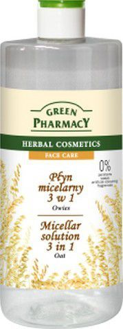 Green Pharmacy Płyn micelarny 3w1 z ekstraktem z owsa 500ml 1