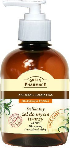 Green Pharmacy Żel do mycia twarzy Aloes 270 ml 1