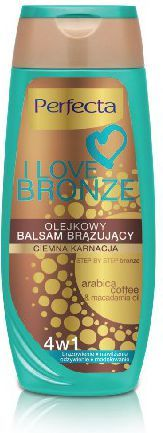 DAX I Love Bronze Balsam brązujący olejkowy 4w1 ciemna karnacja 250ml 1