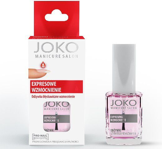 Joko Manicure Salon Odżywka do paznokci Expresowe Wzmocnienie 10 ml 1