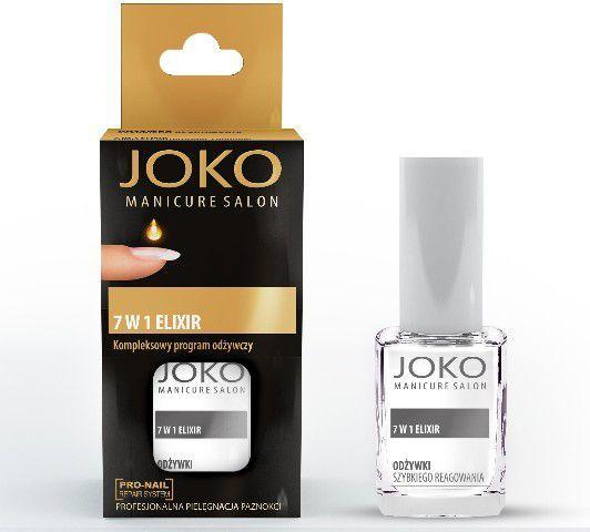 Joko Manicure Salon Odżywka do paznokci 7w1 Eliksir odżywczy 10 ml 1