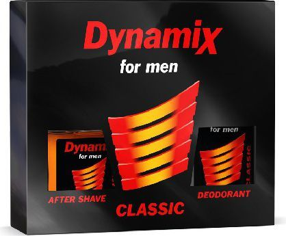Bi-es Dynamix Czarny Komplet Woda po goleniu + Dezodorant 1