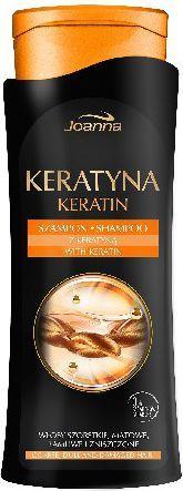 Joanna Keratyna Szampon do włosów szorstkich i zniszczonych 400 ml 1