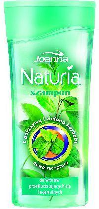 Joanna Naturia Szampon do włosów Pokrzywa i zielona herbata 200ml - 521243 1