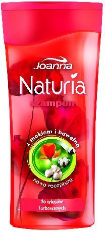 Joanna Naturia Szampon do włosów Mak i bawełna 200 ml 1