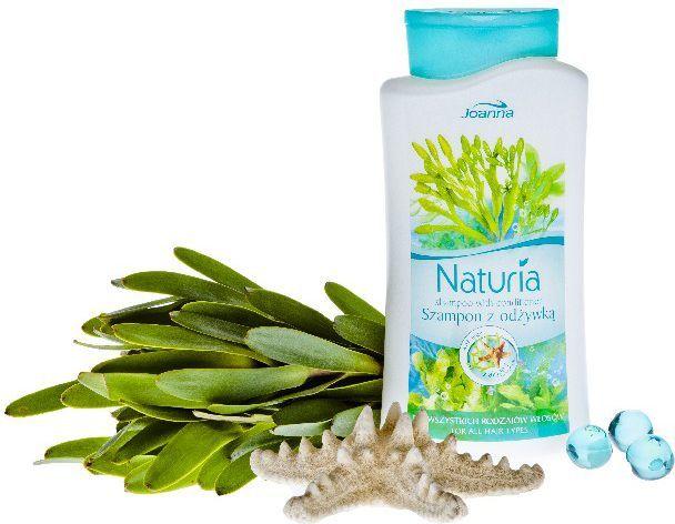 Joanna Naturia Szampon do włosów Algi morskie 2w1 500 ml 1