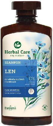Farmona Herbal Care Szampon Lniany – Witalność i Blask 330 ml 1