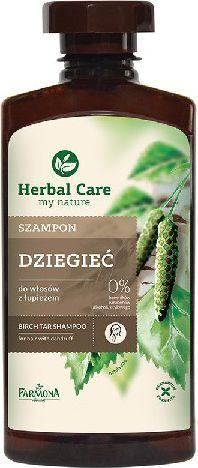 Farmona Herbal Care Szampon Dziegieć 330 ml 1