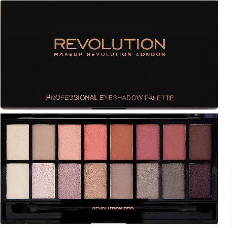 Makeup Revolution Salvation Palette 16 Zestaw cieni do powiek New-Trals vs Neutrals (16 kolorów) 16g 1