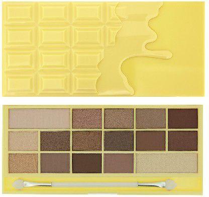 Makeup Revolution I Heart Make Up Palette Zestaw cieni do powiek Naked Chocolate (16 kolorów) 22g 1