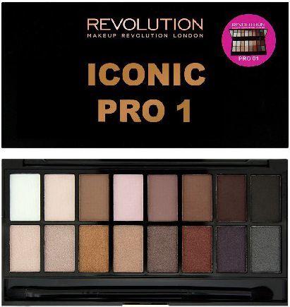 Makeup Revolution Salvation Palette 16 Zestaw cieni do powiek Iconic Pro 1 (16 kolorów) 16g 1