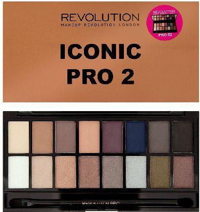 Makeup Revolution Salvation Palette 16 Zestaw cieni do powiek Iconic Pro 2 (16 kolorów) 16g 1