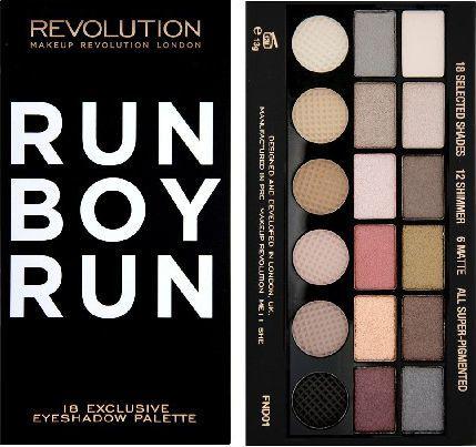 Makeup Revolution Salvation Palette 18 Zestaw cieni do powiek Run Boy Run (18 kolorów) 13g 1
