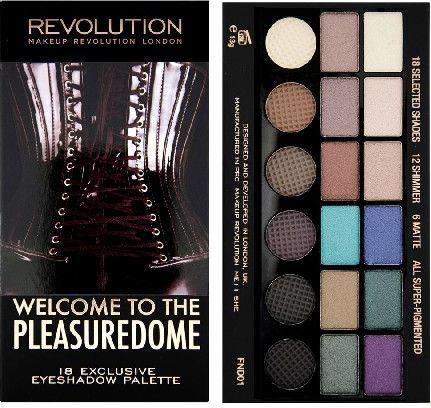 Makeup Revolution Salvation Palette 18 Zestaw cieni do powiek Welcome to The Pleasuredome (18 kolorów) 13g 1