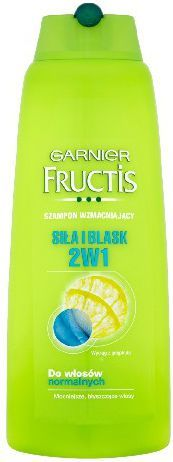 Garnier FRUCTIS Szamp. 400ml 2w1 Siła i Blask wł. normalne - 0337965 1