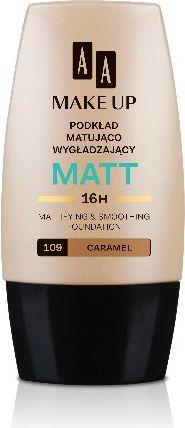 AA Make Up Matt Podkład matująco-wygładzający 109 Caramel 30ml 1