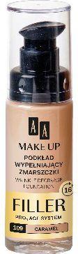 AA Make Up Podkład wypełniający zmarszczki nr 109 Caramel 30ml 1