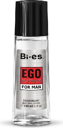 Bi-es Ego Platinum Dezodorant w szkle 100ml 1