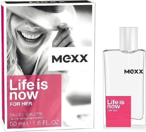 Mexx Woman Life Is Now EDT 50ml 1