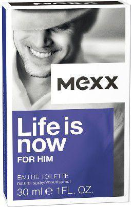 Mexx Man Life Is Now EDT 30ml 1