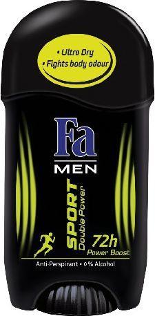 Fa Men Sport Double Power Power Boost Dezodorant w sztyfcie 50ml 1