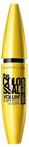 Maybelline  Tusz do rzęs Mascara Colossal 100% Black (czarna) 10.7ml 1