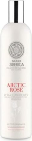 Natura Siberica Blanche Balsam do włosów odbudowujący Arktyczna Róża 400 ml 1