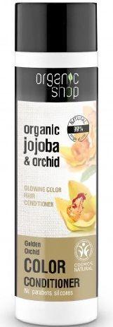 Organic Shop Balsam do włosów farbowanych Złota Orchidea BDIH 280 ml 1