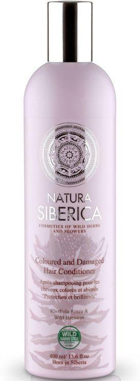 Natura Siberica Odżywka do włosów chroniąca kolor i nabłyszczająca - włosy farbowane 400 ml 1
