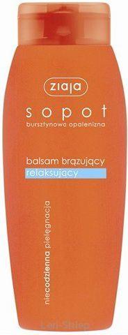Ziaja Sopot balsam brązujący relaksujący 200ml 1