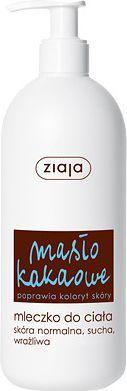 Ziaja Masło kakaowe mleczko do ciała, dozownik 400ml 1