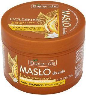 Bielenda Golden Oils Ultra Nawilżanie Brązujące masło do ciała 200ml 1