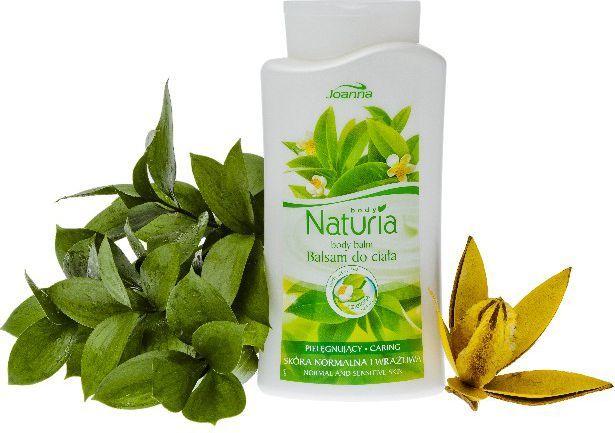 Joanna Naturia Balsam do ciała pielęgnacyjny z Zieloną Herbatą 500ml 1