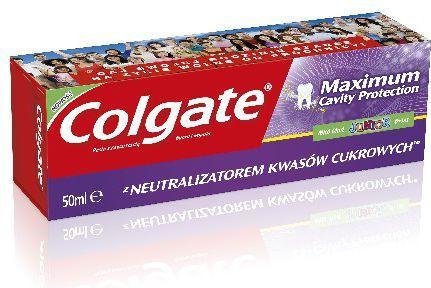 Colgate Pasta Maximum Cavity Protection Junior 6+ 50ml - 3204128 1
